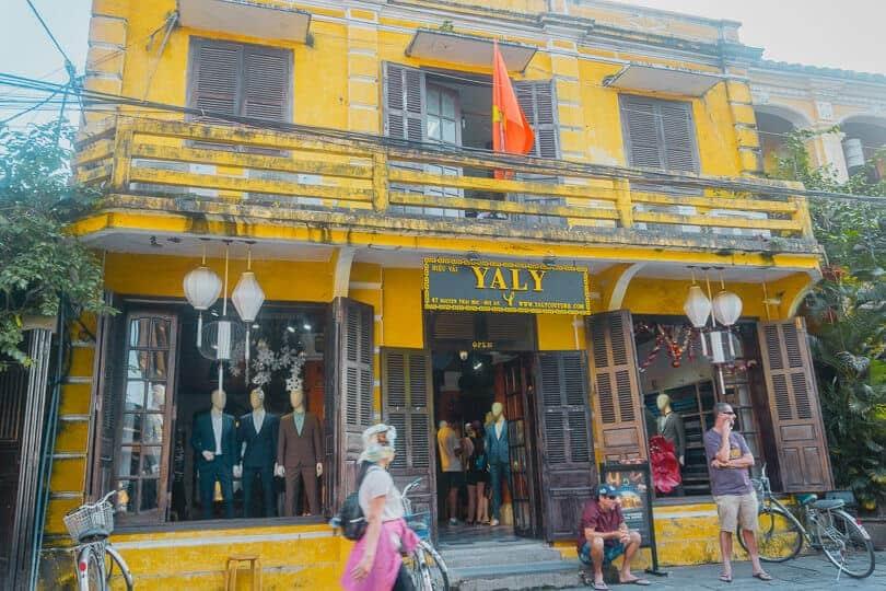Портные Яли, Хойан, Вьетнам.