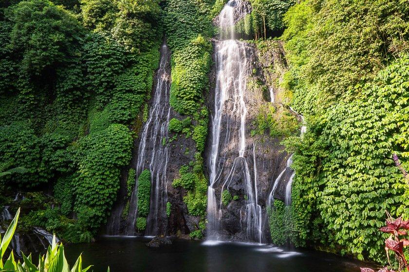 Banyumala Twin Falls Bali.