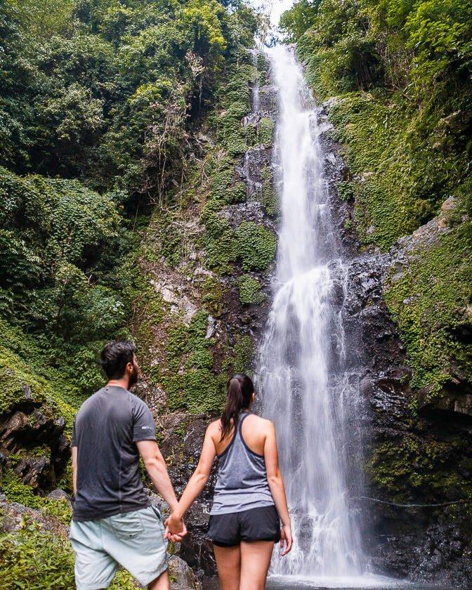 Melanting Waterfall in Munduk