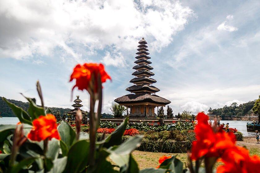 Munduk temple.